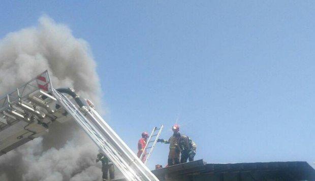 آتش در انبار شیمیایی جنوب تهران بدون مصدوم تحت کنترل درآمد