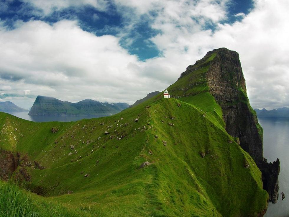 چشم انداز جذاب در جزایر فارو